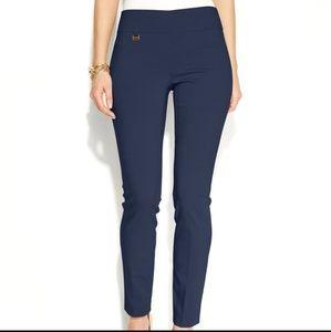 Alfani Navy Blue Skinny Pull On Dress Pants Sz 12